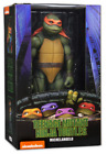 Teenage Mutant Ninja Tutrles Neca Michael Angelo 1:4 Scale Action Figure