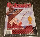 Quiltmaker No. 62 July / August 1998 Magazine Overall Bill Goes Fishin'