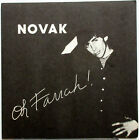 "NOVAK Oh Farrah! Real Cool Guy 1979 Dumb/BAHP Records 7"" SF New Wave 45 ♫HEAR♫"