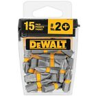 DEWAT 1 in. #2 Phillips Steel Screw Driving Bit Tip (15-Pieces)  New!