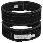 Внешний вид - DEFY 10mm Weight Power Lifting Leather Lever Pro Belt Gym Training lifting Black
