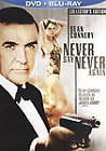 New! 007 James Bond NEVER SAY NEVER AGAIN(Blu-ray/DVD) Sean Connery Rare OOP Ed $119.8 CAD on eBay
