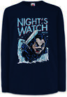 Night's Bros Kinder Langarm T-Shirt Game Watch Jon of Snow Fun Sword Ice Thrones