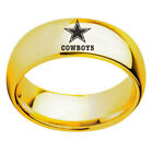 Dallas Cowboys Football Team Stainless Steel Rings on eBay