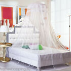 US Round Lace Insect Bed Canopy Netting Curtain Dome Mosquito Net image
