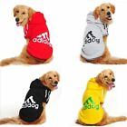Winter Spring Autumn 2 Leg Large Dog Warm Fleece Hoodie Sweater Jumpsuit Coats