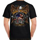 2019 Daytona Beach Bike Week Rally Mens Biker Motorcycle T-Shirt, Florida image