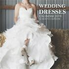 Wedding Dresses Calendar 2019: 16 Month Calendar (Paperback or Softback)