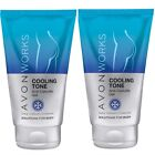 Avon Works Cooling Tone Gel Anti-Cellulite Cold Therapy Complex for Body 150ml
