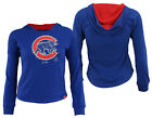 Majestic MLB Youth Girls Chicago Cubs The Closer Pullover Hoodie on Ebay