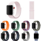 38/42/40/44mm Nylon Sports Loop iWatch Band Wrist Strap for Apple Watch 2 3 4 5