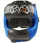 Rival Boxing Face Guard Headgear - Black/Blue