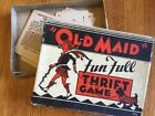 Vintage RARE Russell Mfg. Co. Complete FUN FULL THRIFT GAME Card Game in Box!
