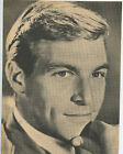 James Franciscus Mr Novak clipping orig magazine photo 1pg 8x10 X2020