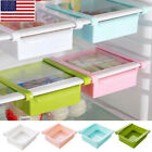 US Coast Fridge Freezer Space Saver Organizer Kitchen Storage Rack Shelf Holder