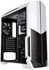 Best Computer Case Fans Included Mid Tower Desktop Gaming PC Cover Snow Edition