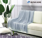 """ALPHA HOME Throw Decorative Blanket 50"""" x 60"""" for Couch,Sofa, Chair, Bed image"""