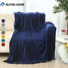 "ALPHA HOME Soft Throw Blanket Warm & Cozy for Couch,Sofa, Chair, Bed - 50"" x 60"" image"