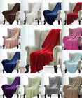 Super Soft Light Weight Coral Fleece Warm Throw Blanket for Couch/Sofa/Bed/Chair image