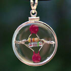 Love Power Crystal Quantum Radio Super Duper Amulet Sterling Silver NEW