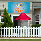 Vinyl Banner Sign Fritos Pie! Restaurant & Food Marketing Advertising Aqua-Blue $164.99 USD on eBay