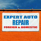 Vinyl Banner Sign Expert Auto Foreign &Domestic Business Marketing Advertising $14.99 USD on eBay