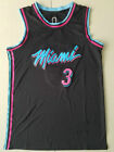 New Season Miami Heat #3 Dwyane Wade Black Basketball Jersey on eBay
