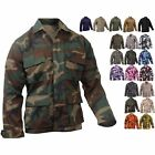 Military BDU Shirt Tactical Uniform Army Camouflage Army Fatigue Jacket woodland