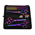 Salon Hair Cutting Professional Thinning Barber Shears Scissors Hairdressing Set <br/> Also for Pet Dog Using!