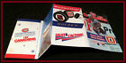 1991-92 MONTREAL CANADIANS MOLSON EXPORT HOCKEY POCKET SCHEDULE FREE SHIPPING