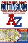 Nottingham Premier Map, Geographers A-Z Map Company, Used; Acceptable Book