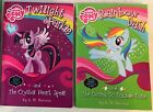 The Crystal Heart Spell, The Daring Do Double Dare: My Little Pone 2 Book Set