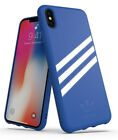Brand New Adidas Gazelle for Apple iPhone X: Blue and White iPhone X Phone Cover