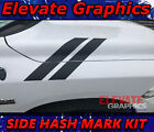 Dodge Ram 1500 Side Hash Mark Stripes Graphics Decals Double Bar Stickers 09-20 $29.99 USD on eBay