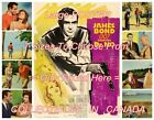 "DR. NO 1962 James Bond 007 SECRET AGENT Contre Dr. No = POSTER 7 SIZES 19"" - 36"" $62.88 CAD on eBay"