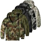 Urbandreamz Combat Anorak Windbreaker Übergangs Jacke Herrenjacke Windjacke