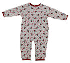 NBA Baby Boys Infants Chicago Bulls All-Over Print Pajamas Coveralls, White on eBay