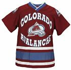Colorado Avalanche NHL Hockey Boys Youth Short Sleeve Jersey Shirt, Burgundy $9.99 USD on eBay