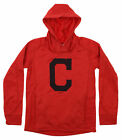 Gen 2 MLB Youth Cleveland Indians Performance Fleece Primary Logo Hoodie on Ebay