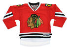 Reebok NHL Youth Boys Chicago Blackhawks Blank Home Premier Jersey, Red $44.99 USD on eBay