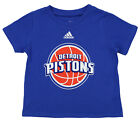 Adidas NBA Infant Detroit Pistons Short Sleeve Team Logo Tee, Blue on eBay