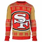 Forever Collectibles NFL Unisex San Francisco 49ers Big Logo Ugly Sweater $39.99 USD on eBay