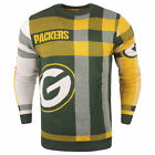 Forever Collectibles NFL Men's Green Bay Packers Plaid Crew Neck Sweater $39.99 USD on eBay