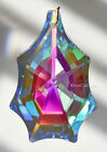 """63mm Crystal Prism Suncather Clear AB Funky 7 point Pendalogue 2-1/2"""" New 2019"""