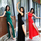 Women's New Belly Dance Costumes Long Dress&Safety Shorts  Performance Stage HOT