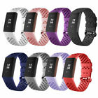 Breathable Sports Soft Watch Band Silicone Strap Bracelet For Fitbit Charge 3 image