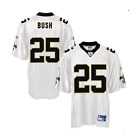 Reebok NFL Men's New Orleans Saints REGGIE BUSH # 25 Replica Jersey, White