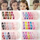 Lot 6 10pcs Baby Girls Hair Clips Barrette Hair Pin Hair Accessories Kids Gifts
