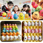 10/20PCS Plastic Painting Easter Eggs Artificial Eggs Kids Play Toy Gift Decor