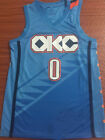 Oklahoma City Thunder #0 Russell Westbrook City Edition Basketball Jersey on eBay